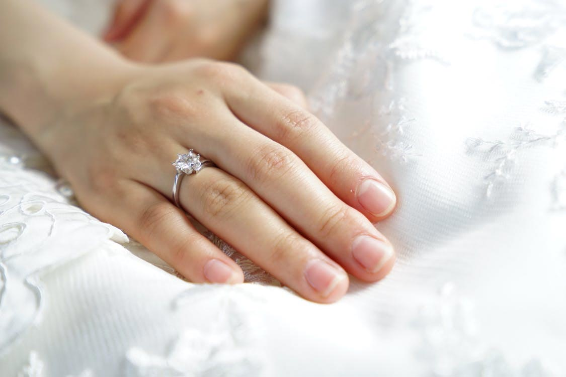 origines bague de mariage