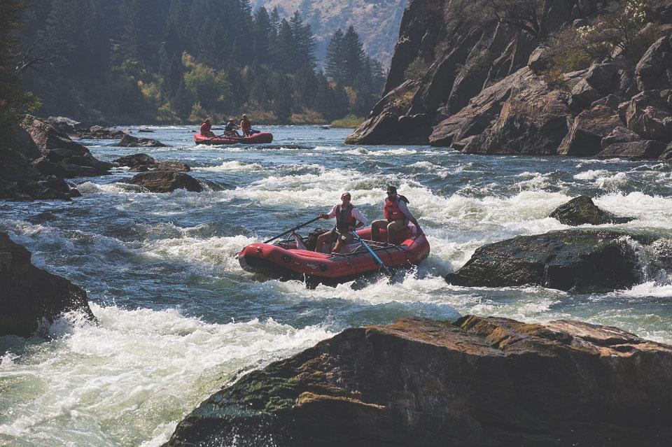 vacances rafting